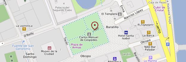 Carte Plaza de Armas - Cuba