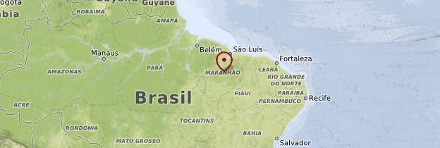 Carte Maranhão - Brésil
