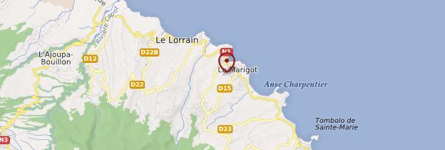 Carte Marigot - Martinique