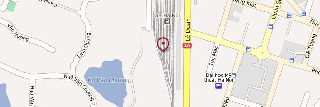 Carte Gare de Hanoï - Vietnam