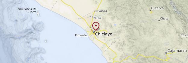 Carte Chiclayo - Pérou