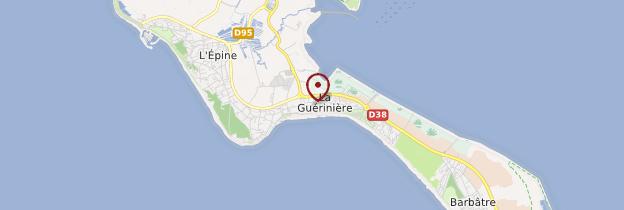Carte La Guérinière - Pays de la Loire