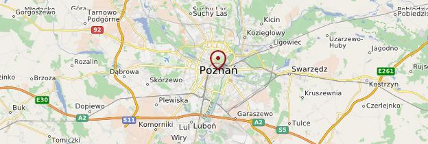 Carte Poznań - Pologne