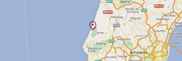 Carte Azenhas do Mar - Portugal
