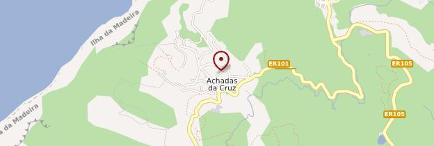 Carte Achadas da Cruz - Madère