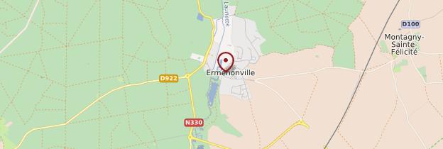 Carte Ermenonville - Picardie