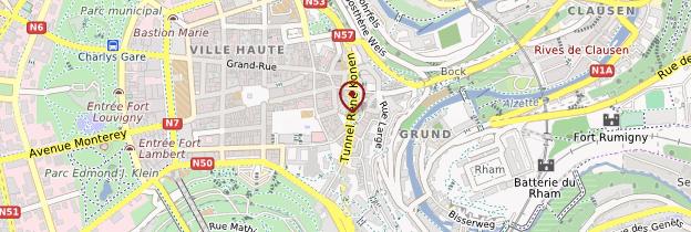 Carte ville luxembourg - Code postal maizieres les metz ...