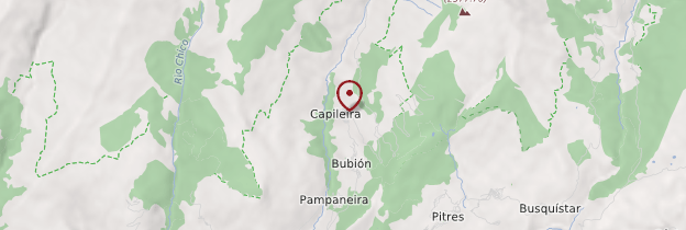 Carte Capileira - Andalousie