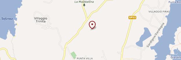 Carte Isola Maddalena - Sardaigne