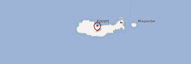 Ile De Chrissi Crete Carte.Ile De Chryssi Ou Gaidouronissi Ierapetra Guide Et