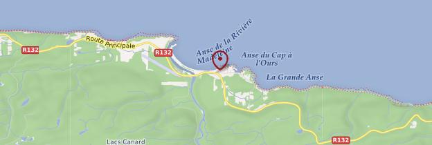 Carte Rivière-la-Madeleine - Québec