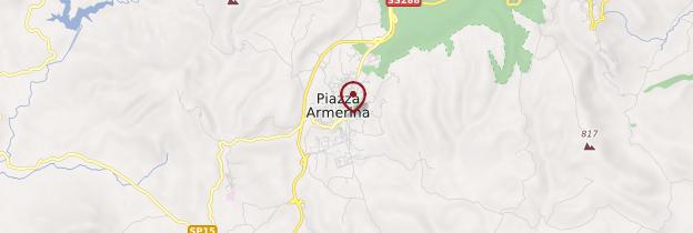 Carte Piazza Armerina - Sicile