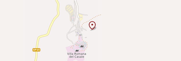 Carte Villa romana del Casale - Sicile