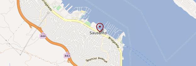 Carte Sausalito - San Francisco