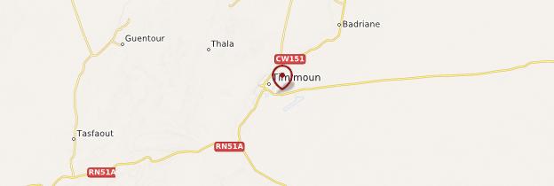 Carte Timimoun - Algérie