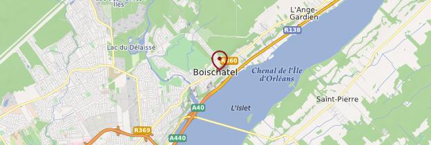 Carte Boischatel - Québec