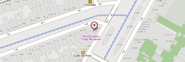 Carte Musée de la Tulipe - Amsterdam