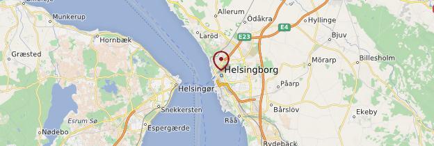 Carte Helsingborg - Suède