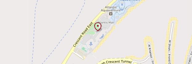 Carte Complexe de loisirs Atlantis - Dubaï