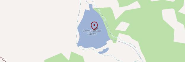 Carte Consolation Lake - Canada