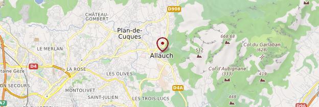 Carte Allauch - Provence