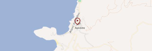 Carte Arkassa - Îles grecques