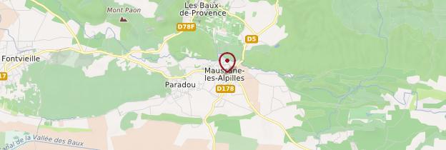 Carte Maussane-les-Alpilles - Provence