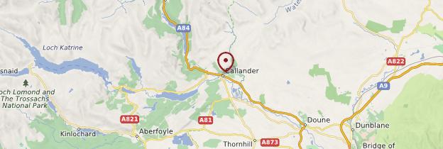 Carte Callander - Écosse