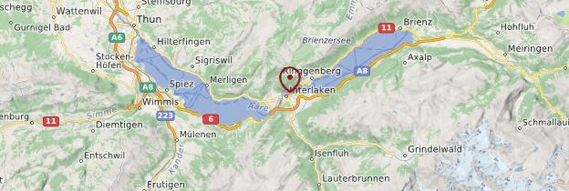 Carte Interlaken - Suisse