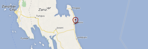 Carte Bwejuu - Zanzibar