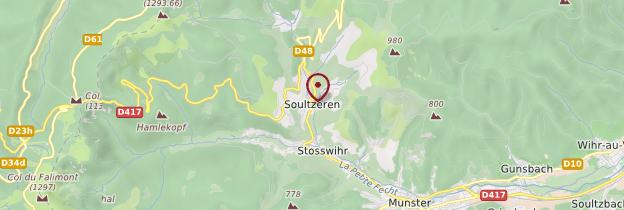 Carte Soultzeren - Alsace