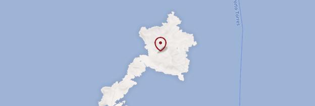 Carte Parc national de l'Asinara - Sardaigne