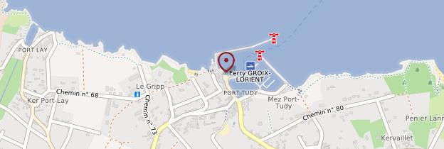 Carte Port Tudy - Bretagne