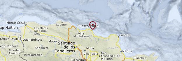 Carte Cabarete - République dominicaine