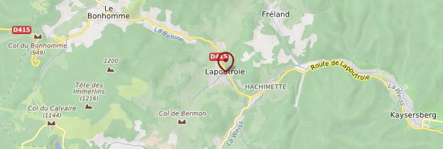 Carte Alsace Lapoutroie.Lapoutroie Montagne Vosgienne Guide Et Photos Alsace