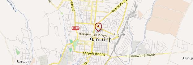 Carte Gumri - Arménie