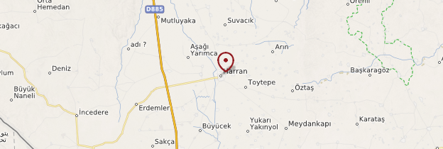 Carte Harran - Turquie