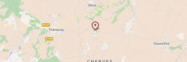 Carte Cherves - Poitou, Charentes