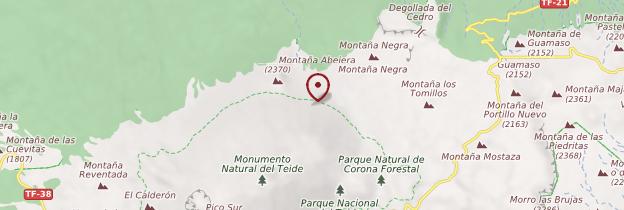 Carte Montaña Blanca - Tenerife