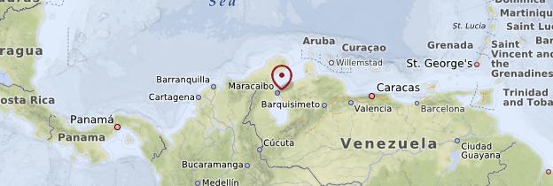 Carte Maracaibo - Venezuela