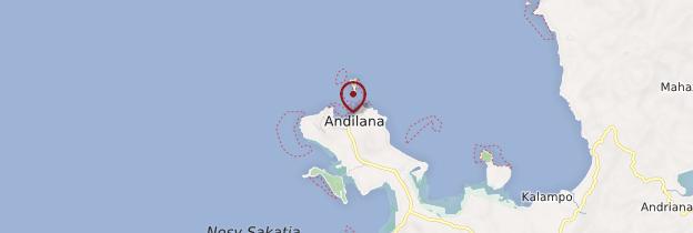 Carte Andilana - Madagascar