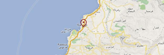 Carte Chekka - Liban