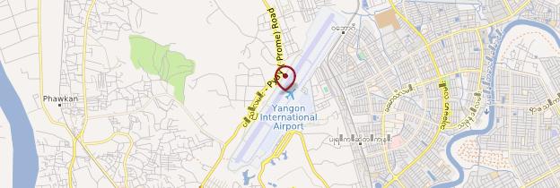 Carte Aéroport - Birmanie