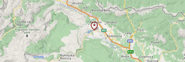 Carte Bled - Slovénie