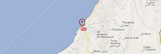 Carte Sidi Ifni - Maroc