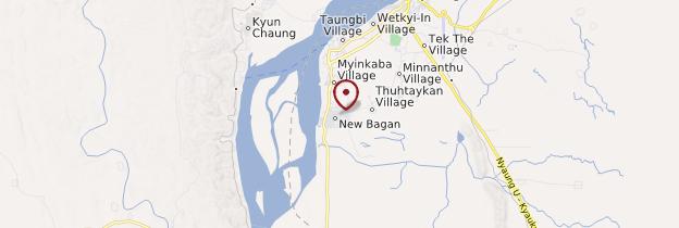 Carte Bagan (Pagan) - Birmanie