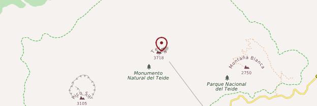 Carte Pico del Teide - Tenerife