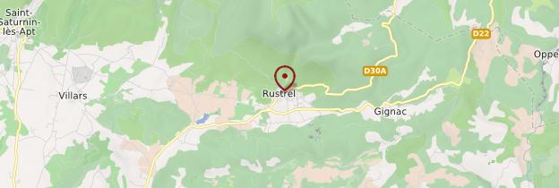 Carte Rustrel - Provence