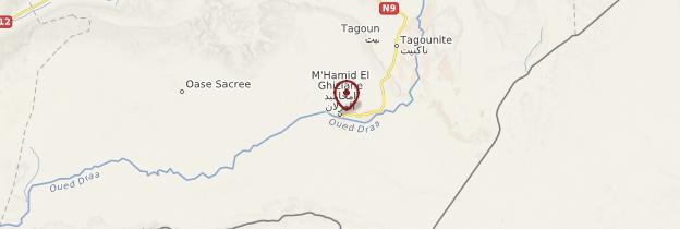 Carte Mhamid - Maroc