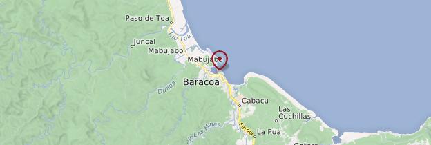 Carte Baracoa - Cuba
